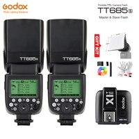 Godox TT685S GN60 ttl HSS 1/8000 s Вспышка Speedlite + x1t s Trigger передатчик для Sony a77ii a7rii A7R A58 A99 A6300 A6500