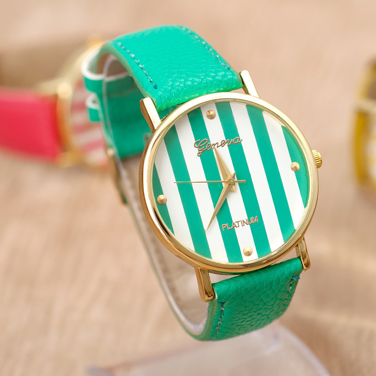2013 New Ladies Classic Fashion Teen Watch Strip Casual Leather ...