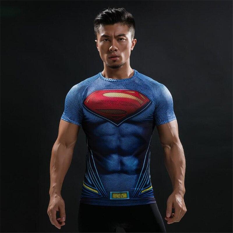 superman exercise shirt