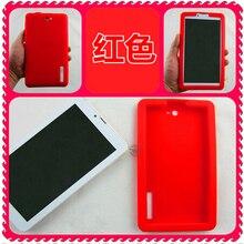 "Personalizado colorido tpu case de silicona suave cubierta de shell para 7 ""TopTech Tab A-H1M GPS 3G MPMAN MPDCG71 Tablet Envío Gratis"