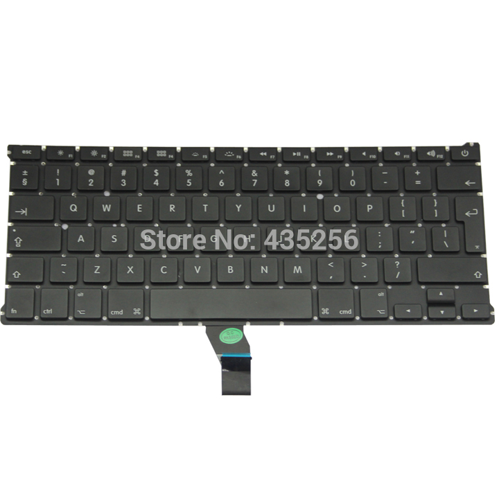 UK Keyboard For Macbook Air 11'' A1370 A1465 MD711 MD712 MD223 MD224 MC968 MC969/505