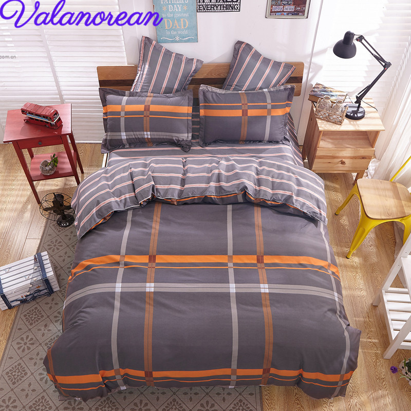 modern style bedding sets polyester duvet cover set bed sheet pillowcase twin full queen size. Black Bedroom Furniture Sets. Home Design Ideas