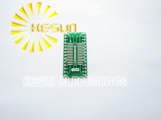 100PCS X TSSOP28 SSOP28 MSOP28 SOP28 TURN DIP28 28pin  IC adapter Socket / Adapter plate  PCB Suitable for IC socket