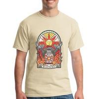 Kerk van de zon T-shirts Game Dark Souls II 2 Slagaders lof De Zon Heren Korte Mouwen Katoenen T-shirt mannen Custom Tees