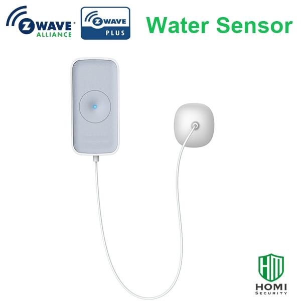 Wireless Z-wave Plus 868.42mhz Water Sensor Water Leakage Flood Detector Z-wave