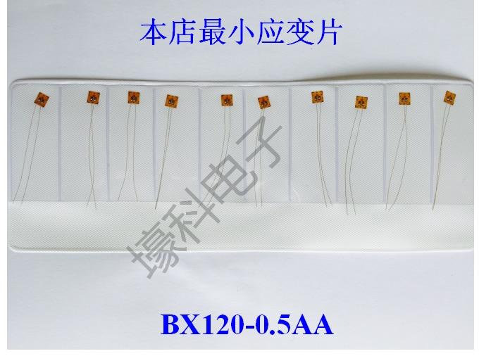 10 Фольга сопротивление тензодатчик/нормальный Температура тензометрических bx120-0.5aa