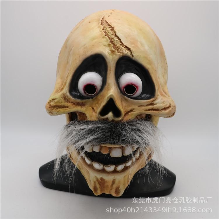 Movie CoCo Hector Mask Cosplay Ektor Halloween Skull Mask Full Head Costume Fancy Dress Props