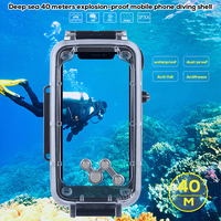 For iPhone X XS Max XS Waterproof Case Diving Outdoor Sports Shockproof Cover for iPhone 7 8 Plus Case Underwater