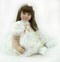 Силиконовые возрождается младенцев Куклы реалистичные хобби ручной работы ребенок жив кукла для Обувь для девочек Игрушечные лошадки Boneca