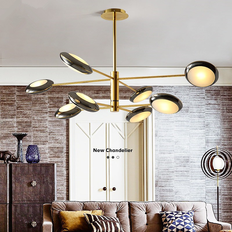 Nordic Living Room Lamp Simple And Modern Pendant Lights Atmosphere Home Bedroom Lamp Personality Restaurant Lamp