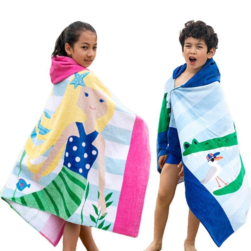 Children's cartoon shawl bath towel Chil