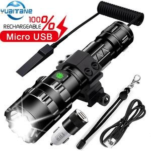 60000LM Led flashlight Most po