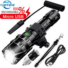 Led flashlight Most powerfull torch L2 Tactical light 5Mode Scout Light LED lanterna Bicycle Light by 18650 battery(China)