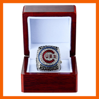 2016 CHICAGO CUBS BYANT WITH NUMBER 17 WORLD SERIES CHAMPIONSHIP REPLICA RIING US SIZE 8 9