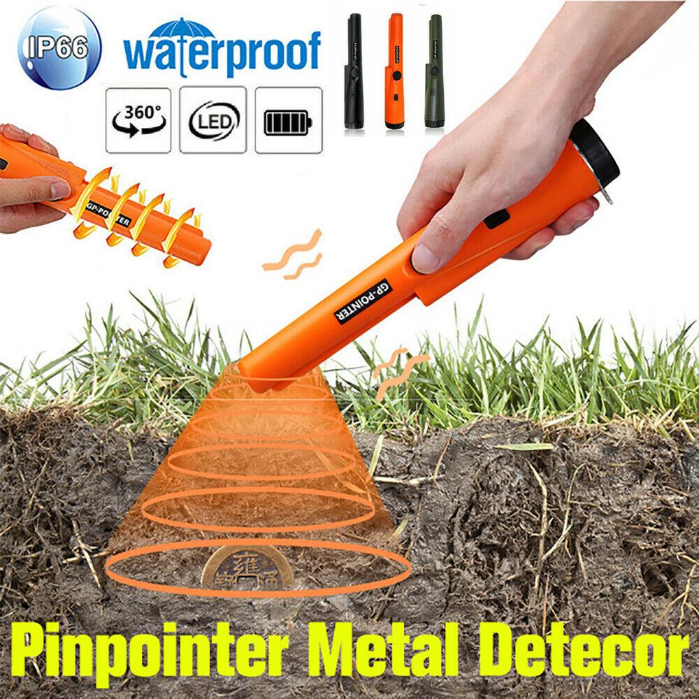 Waterproof Underground Metal Detector Pro Pinpointer Gold Treasure Hunter Finder High Sensitive Search NEW