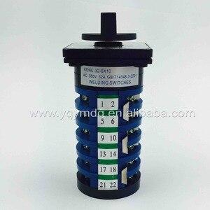 Image 4 - Máquina giratoria para soldadura interruptor de soldador 32A, 6 fases, 10 posiciones, interruptores de leva universales, KDHC 32/6*10