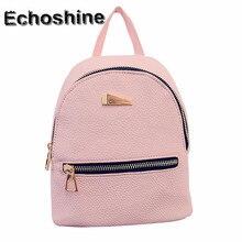 Frauen Rucksack Schultasche Reißverschluss Tasche Rucksäcke Für Teenager Mädchen Frauen Rucksack Mochila Feminina großhandel