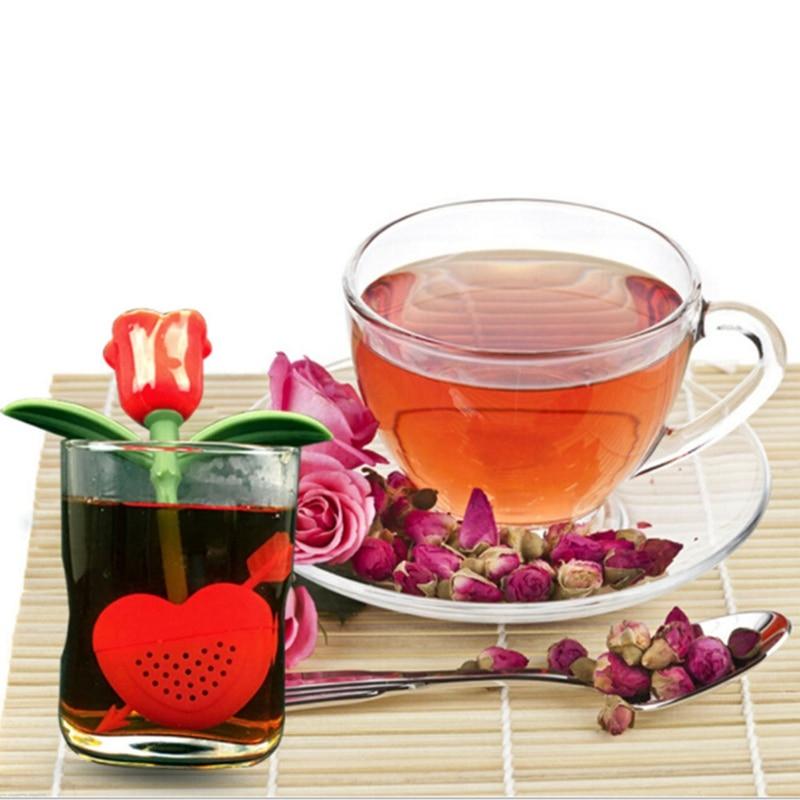 Aliexpress Com Buy 1pc Silicone Strawberry Design Tea