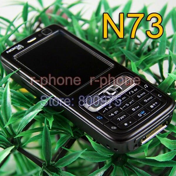 Цена за Оригинал NOKIA N73 Mobile Phone GSM 3 Г Разблокирована Арабский Русская Клавиатура