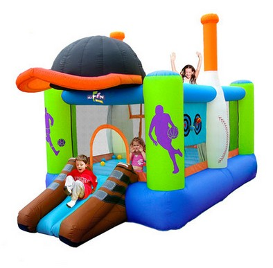Free shipping BTBOY Child inflatable indoor playground home ...