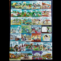 370 400 PCS All Different All New Big Size World Wide Cartoon Postage Stamps For Collection A0291
