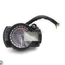 Universal For Kawasak Honda KTM 7colors Motorcycle 12V LCD Digital Backlight Tachometer Tacho Control Gauge Speedometer Odometer for honda cbr400 nc29 speedometer tachometer tacho gauge instruments motorcycle parts