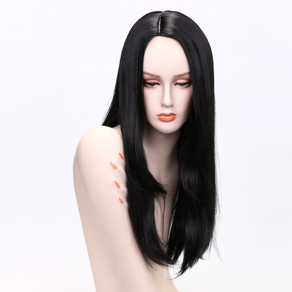 Black Hair Long Straight Wig Sale High Quality Wigs For