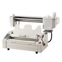 2020 New Upgrade Manual Perfect binding machine hot melt glue book binder machine 40mm thick