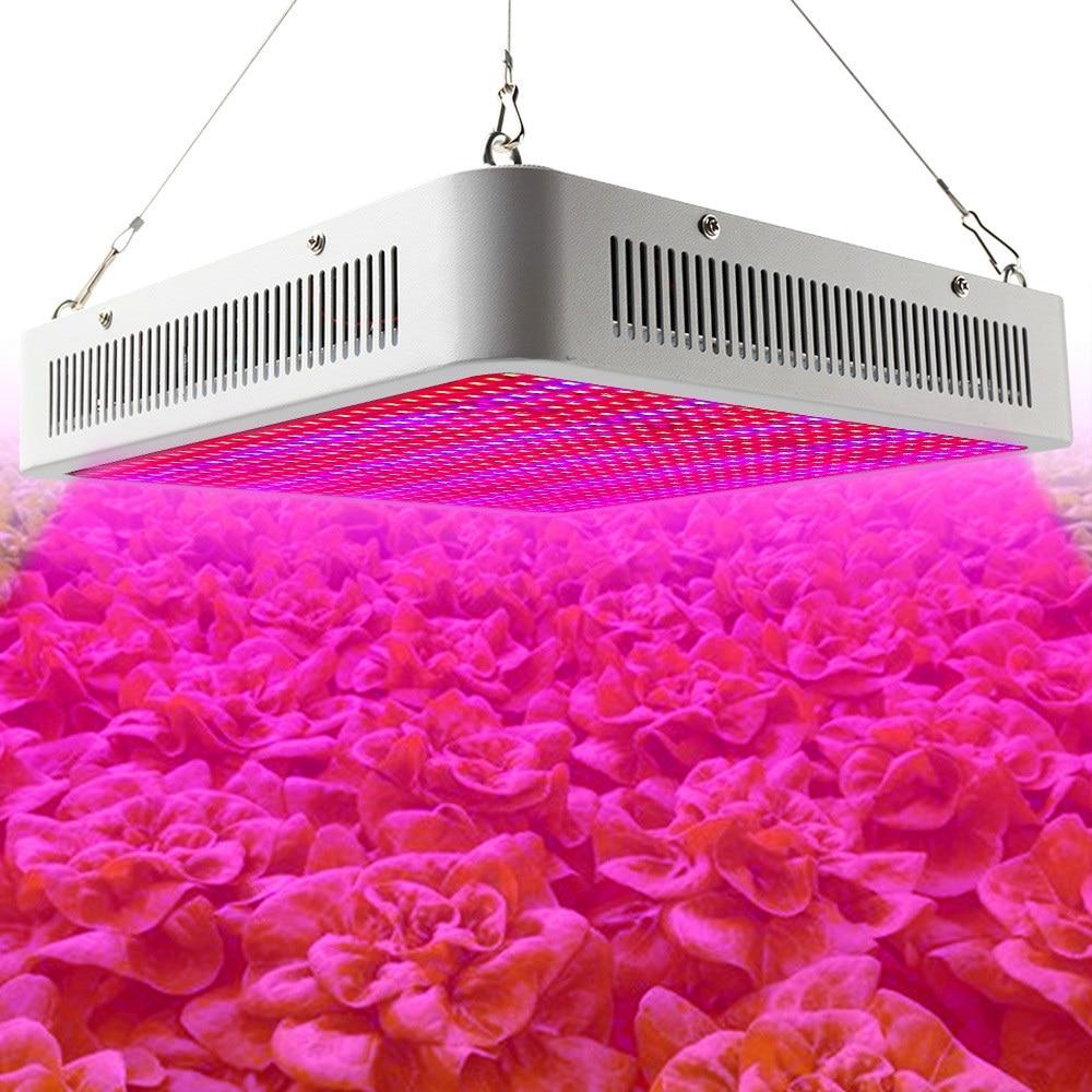 Koko Spectrum 800W: n LED-kasvatusvalaisimet 800 SMD5630 LED-kasvivalaisin kasvihuoneiden vesiviljelykasvien kasvun ja kukinnan tiputtamiseen