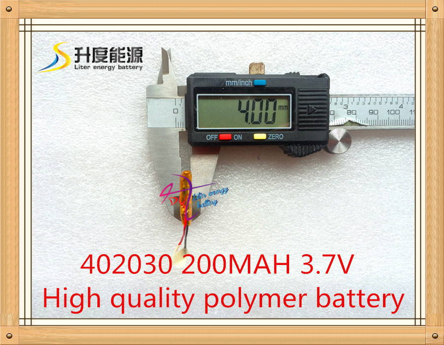 3,7 V Lithium-Polymer-Batterie 042030 402030 200mah MP3 MP4 MP5