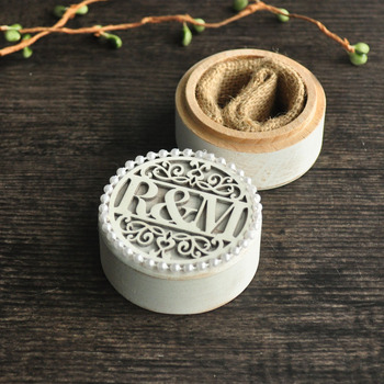 Personalized Wedding Ring Box,Wooden Ring Box,Ring Box with Bead,Wedding Gift,Ring Bearer Box 6 road 10a diameter 22mm collector ring slide ring lighting brush box