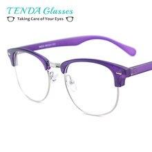 cd498d5c0e Men Vintage TR90 Small Eyeglasses Frame Woman Round Full Rim Lightweight  Glasses For Myopia Prescription Lenses