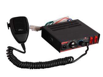 ФОТО High quality DC12V 100W Police siren car alarm warning Amplifiers with microphone(without speaker)
