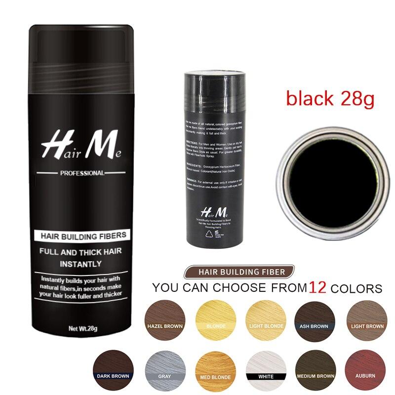 28g Bottle Hair Me Treatment Men Bald Thickener Keratin Cotton Concealer Powder Building Fibers 1pc Unisex Popular Products
