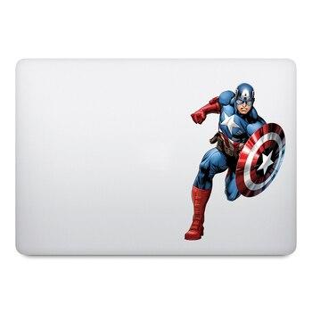 Captain America Super Hero Laptop Sticker for Macbook Decal Pro Air Retina 11 12 13 14 15 inch Mac Book Skin Notebook Stickers