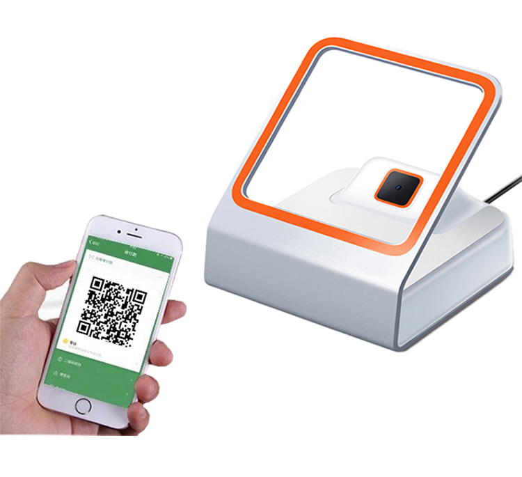 Milestone USB Simple Connected QR Code Payment Scanning  Windows/iOS/Android/Linux System Plug and Play Bar code Scanner