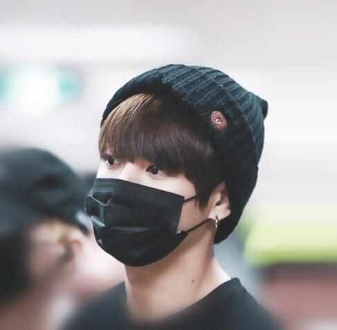 Kpop home jungkook jimin jhope same style embroidery fashion cap harajuku hip hop bomber hat cap