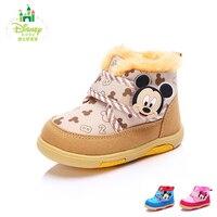 Disney Baby Junge Mädchen Kleinkind Schuhe Plüsch Kinder Casual Babyschuhe Weichen Boden Komfort Winter Erste Wanderer Size14-16 DH0042