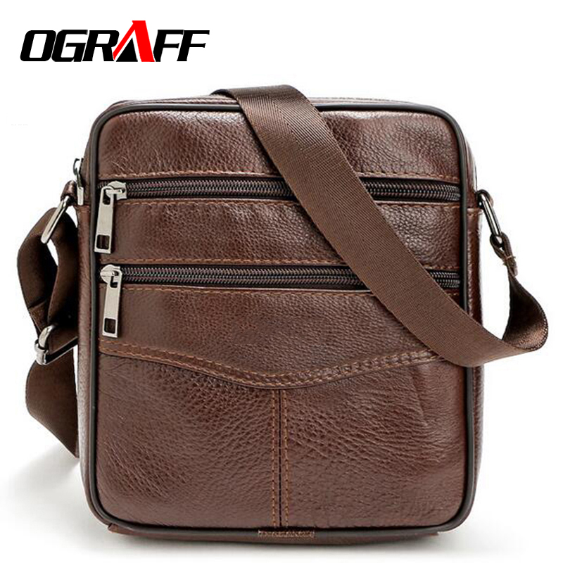 OGRAFF Men messenger bagss