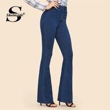 femininas mulheres jeans Sheinside