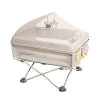 Переносная детская кроватка многофункциональное постельное белье детская кроватка