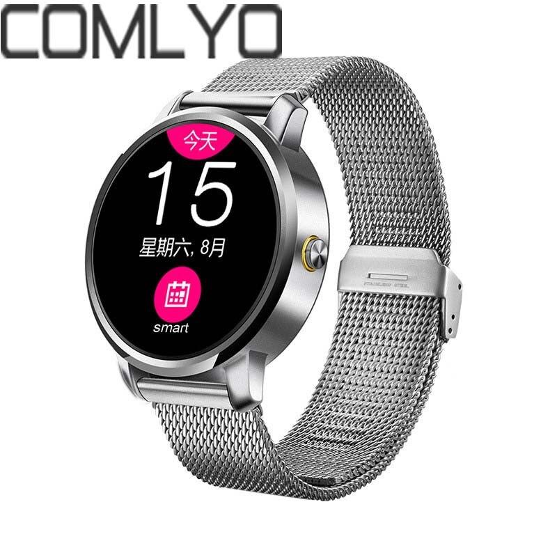imágenes para COMLYO V360 Reloj Inteligente Para Apple iPhone Huawei Android Ios Smartwatch Con Siri Función Actualización DM360 Alta Calidad + Fast nave