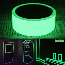 Luminous tape glow in the dark safety stage stickers home decorations self-adhesive warning tape night vision wall sticker