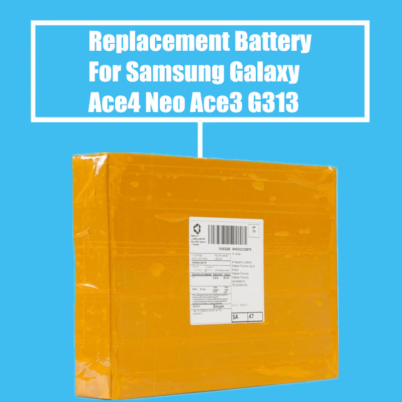 50Pcs/pack 1500mah Replacement Battery For <font><b>Samsung</b></font> <font><b>Galaxy</b></font> Ace4 Neo <font><b>Ace3</b></font> S7270 <font><b>S7272</b></font> S7898 S7562C S7568I G318H G310 G313 G357 image