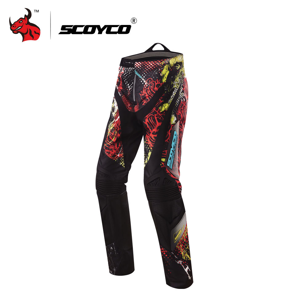 SCOYCO Professional Motocross Off-Road Racing Hip Pads Pants Breathable summer motorcycle pants pantalon motocross scoyco mens motorcycle pants racing trousers winter summer p028