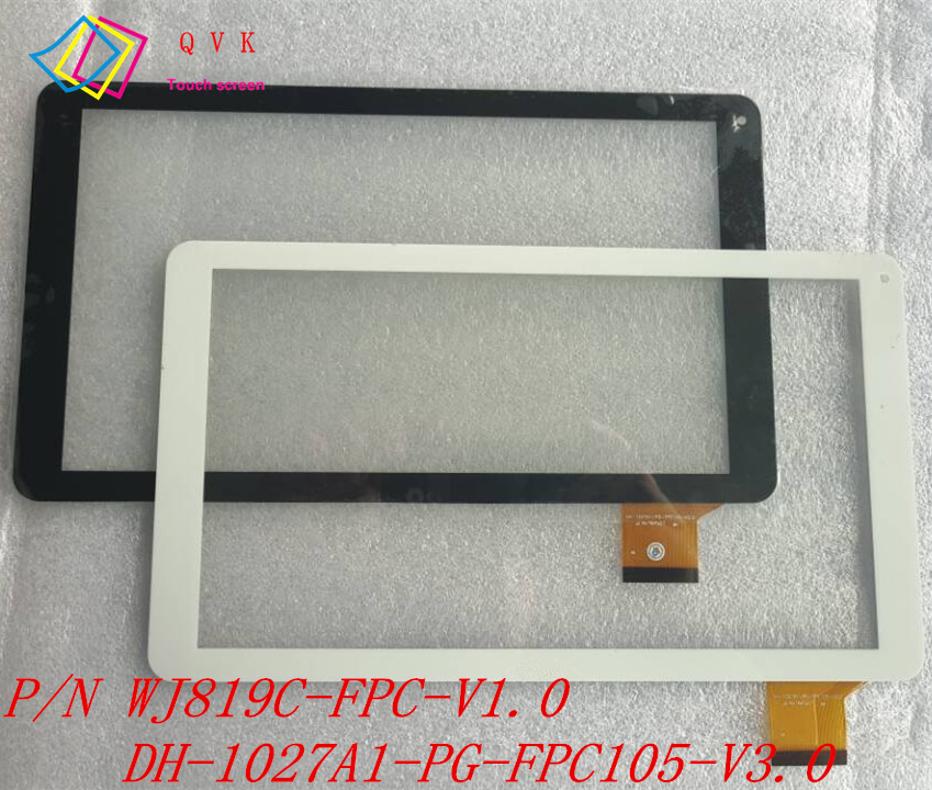 10.1 Inch For SUPRA M14CG Tablet Pc Capacitive Touch Screen  P/N WJ819C-FPC-V1.0 WJ819C-FPC-V2.0 DH-1027A1-PG-FPC105-V3.0