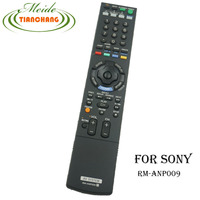 Used Original RM ANP009 For Sony AV System RM ANP009 Remote Control LCD TV BD DVD