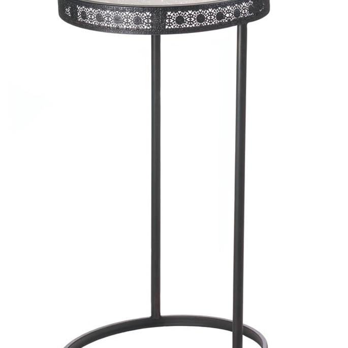 Koehler Home decor Metal Half-Moon Accent Table цена 2017