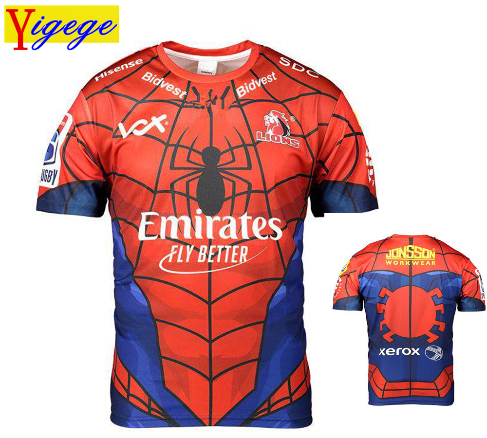 Yigege 2019 Heroes Memorial Edition super rugby jerseys Golden Lions rugby jersey shirt s-3xlYigege 2019 Heroes Memorial Edition super rugby jerseys Golden Lions rugby jersey shirt s-3xl