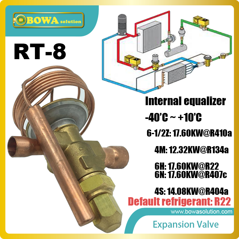 RT-8 expansion valve primary function of these devices is to equalize high-to-low side pressures during the off cycle on systemsRT-8 expansion valve primary function of these devices is to equalize high-to-low side pressures during the off cycle on systems